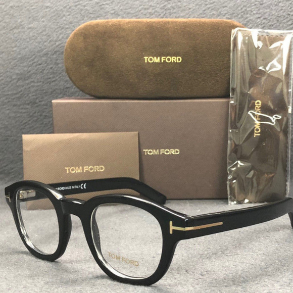 Tom Ford TF5429 001 Shiny Black / Demo Lens 45mm Boutique